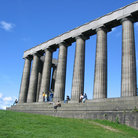 Picture - The Scottish National Monument in Edinburgh.