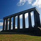 Picture - Full view of the Scottish National Monument in Edinburgh.