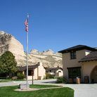 Picture - Visitors Center at Scotts Bluff National Monument.