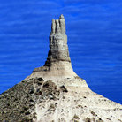 Picture - Chimney Rock near Scottsbluff.
