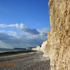 Picture - Birling Beach Gap below the Seven Sisters.