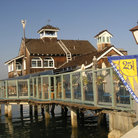 Picture - A restaurant on a pier at Seaport Village.