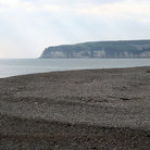 Picture - Beach and cliffs at Seaton.