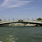 Picture - Pont Alexandre III leads toward in Paris.
