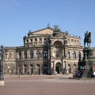 Picture - Semper Opera House in Dresden.