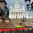 Picture - View of Senate Square in Helsinki.