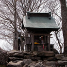 Picture - A mountain top Shinto shrine in Sendai.
