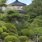 Picture - The pagoda and garden of Rinoji Temple, Sendai.