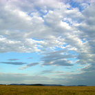 Picture - Clouds over the Serengetis.
