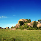 Picture - Rock formation in Serengeti National Park.