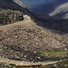 Picture - A mountain road through the Serra de Estrela.