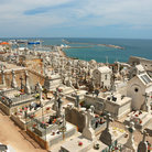 Picture - View over the Sete graveyard.