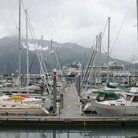 Picture - Ship harbor in Seward.