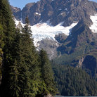 Picture - Mountains around Resurrection Bay.