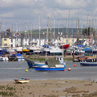 Picture - The harbor at Shoreham-by-Sea.