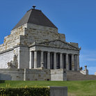 Picture - The Melbourne Shrine of Remembrance.