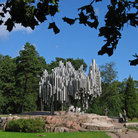 Picture - The Sibelius monument in Helsinki.