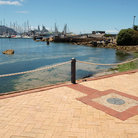 Picture - The wharf at Simon's Town.