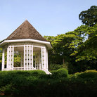 Picture - A bandstand in the Singapore Botanical Gardens.