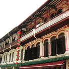 Picture - A colonial style Chinese house in Singapore.