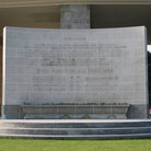 Picture - The Kranji War Memorial for commonwealth soldiers, Singapore.