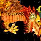 Picture - Decoration from the Lantern Festival in Singapore.