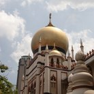 Picture - Dome from a mosque in Singapore.