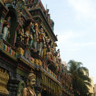 Picture - Exterior of a Hindu temple in Singapore.