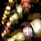 Picture - Lanterns at the Lantern Festival in Singapore.