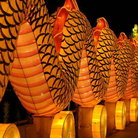 Picture - Dragon at the Lantern Festival in Singapore.