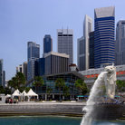Picture - The Singapore Harbour.
