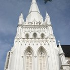 Picture - St Andrew Church in Singapore.