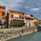 Picture - The waterfront at Sirmione.