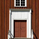 Picture - Entrance of a farm house at Skansen, Stockholm.