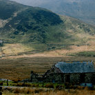 Picture - Old church ruins in the Snowdon area.