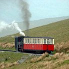 Picture - Snowdon Mountain railroad.