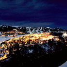 Picture - View over Snowmass Village at night.