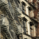 Picture - Cast iron on SoHo apartment, New York.