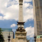 Picture - Soldiers and Sailors Monument in downtown Indianapolis.