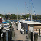 Picture - A marina in Solomons.