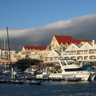 Picture - The harbor at Gordon's Bay.