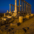 Picture - Temple of Poseidon circa 440 BC in Sounion, Attica.