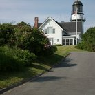 Picture - Cape Elizabeth Lighthouse in South Portland.