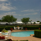 Picture - Pool at Southfork Ranch, Dallas.
