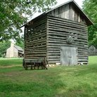 Picture - An old barn at Historic Collinsville.