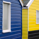 Picture - Colorful beach huts at Southwold.