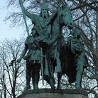 Picture - Statue of Charlemagne in Paris.