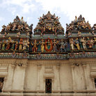 Picture - The Indian temple of sri Veermakallamman in Singapore.