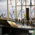 Picture - People on board the SS Great Britain in Bristol.
