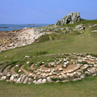 Picture - Troy Town Maze on St Agnes Island.